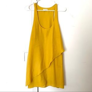 Silence + Noise Yellow Dress